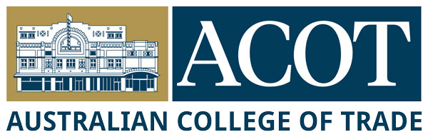 acot australian college of trade logo
